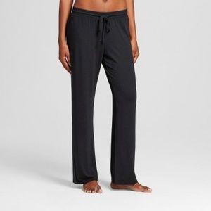 NWT Women's Black Total Comfort Pajama Pants